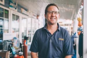 Dave Spragg - Senior Boat Builder